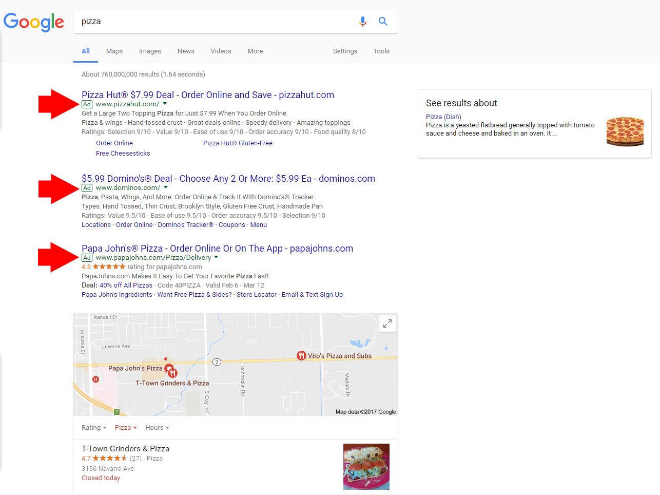 Google Advertising 1 ABC Advertising Agency | Digital Marketing Specialists | Toledo, Ohio