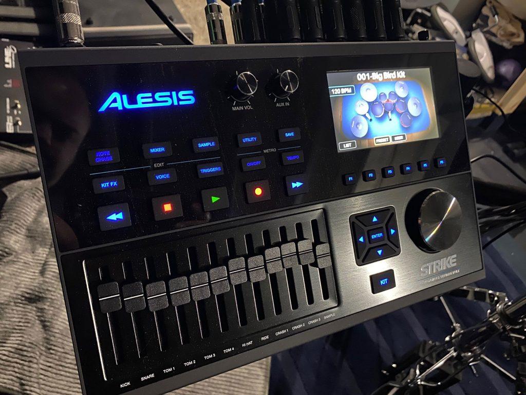 Toledo-Recording-Studio-Alesis-Drums